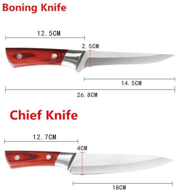Slaughter Butcher Knife set