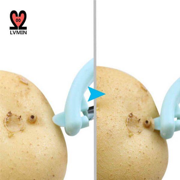 Apple Peeler use 1