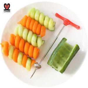 Vegetables Spiral Knife