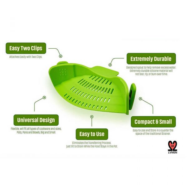 Function Of Clip On Strainer